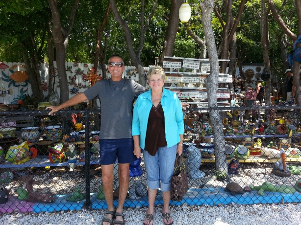 Richard and Jan in the Florida Keys for the Keys 100 Ultamarathon