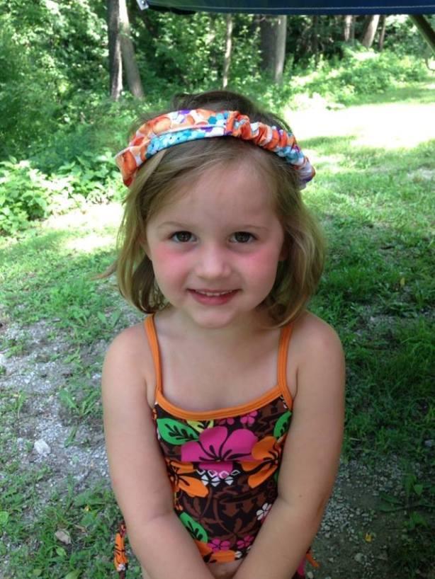 Sera Westbrook, Richard's granddaughter, on her 4 year birthday.