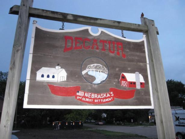 Decatur, Nebraska: start of the adventure run