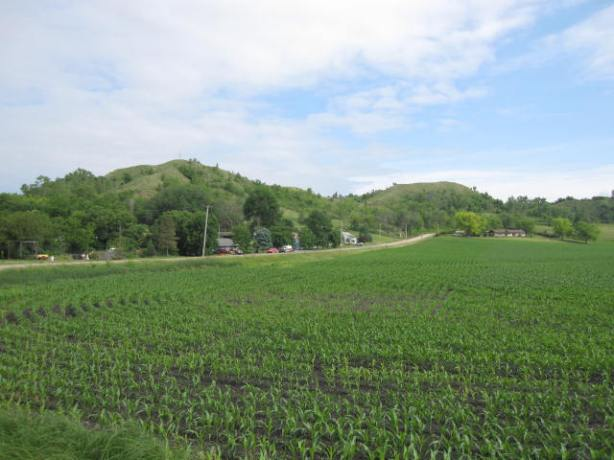 The Loess Hills in western Iowa
