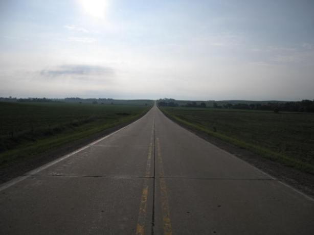 The course in Iowa