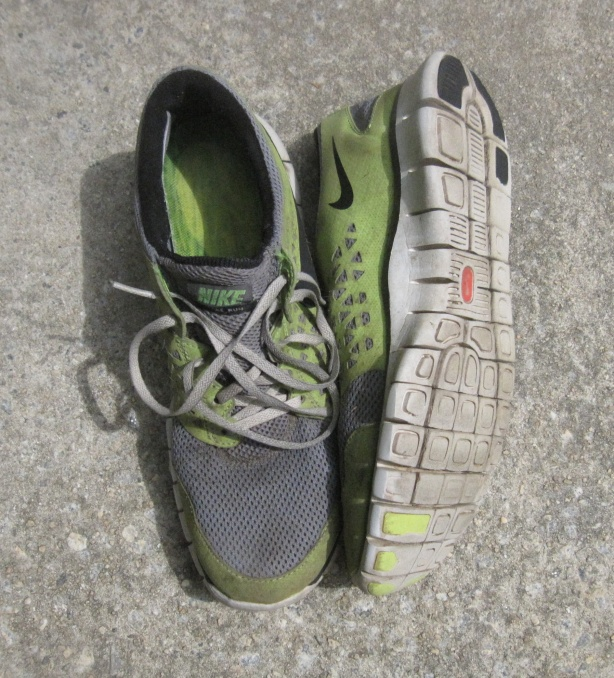 Nike Frees, 1000 mile shoes and still going