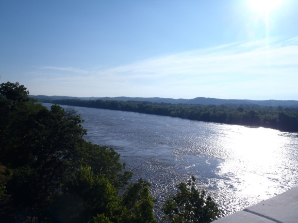 Tennessee River at Perryville (Picture taken by Charlie Taylor)