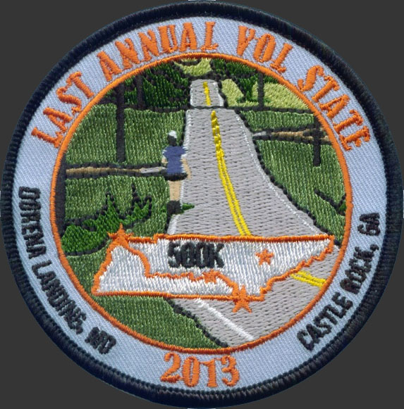 Race patch from last year's race